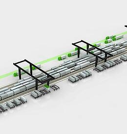 Rail terminal optimization