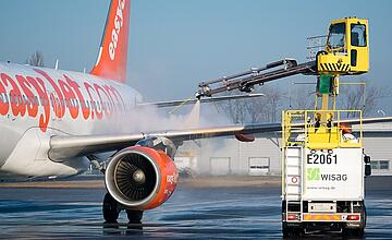 Successful optimization of WISAG's deicing operations