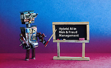 Hybrid AI in Fraud and Risk Management