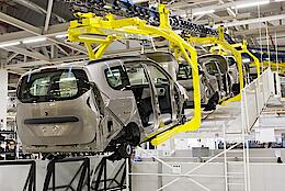 Automobile production line
