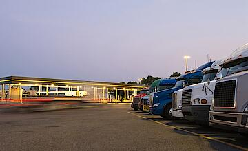 A glance into the future: goodbye to the chaos in German rest areas?