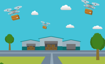 Drones, Robots, and Self Driving Vehicles: Reshaping the Logistics Industry