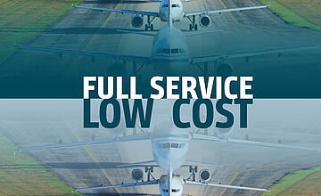Full Service Carrier vs. Low Cost Carrier – what's future-proof?