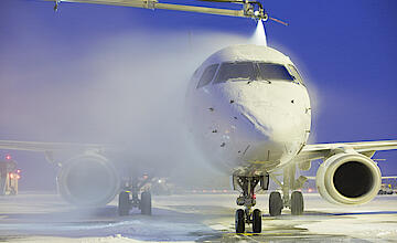 Aircraft De-icing: Guess what's HOT in Winter