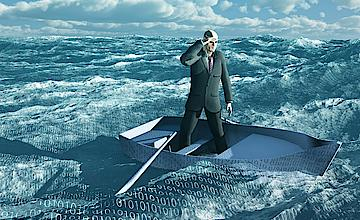 3 industries that must cope with the flood of data