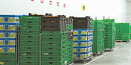 Container and pallet management
