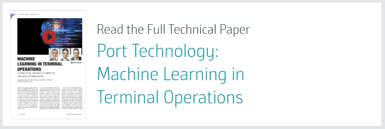 Port Technology: Machine Learning in Terminal Operations – A Practical Review of Impacts on Yard Optimization