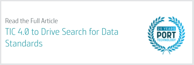 TIC 4.0 to Drive Search for Data Standards